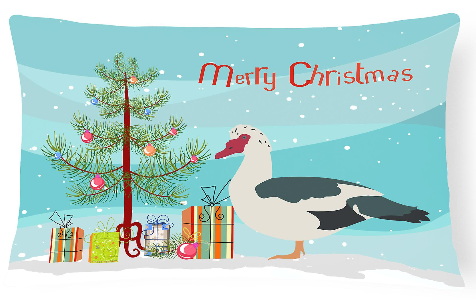 Pillow Decorative Muscovy Fabric Canvas Duck Christmas ZPTOikXu