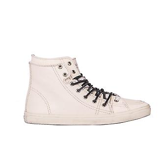 Saint Laurent Herren 4853110AO102904 Beige Leder Hi Top Sneakers