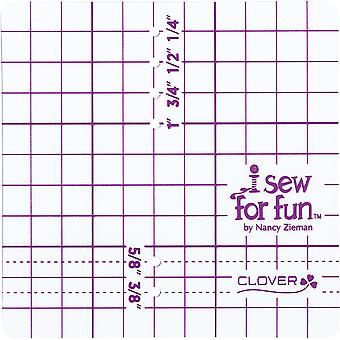 Clover I Sew For Fun Seam Guide By Nancy Zieman- 9601