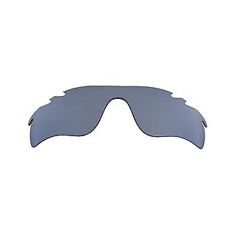 Replacement Lenses Compatible with OAKLEY Vented Radarlock Path Silver Mirror