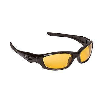 Best SEEK Replacement Lenses - Oakley STRAIGHT JACKET Amber Silver Mirror