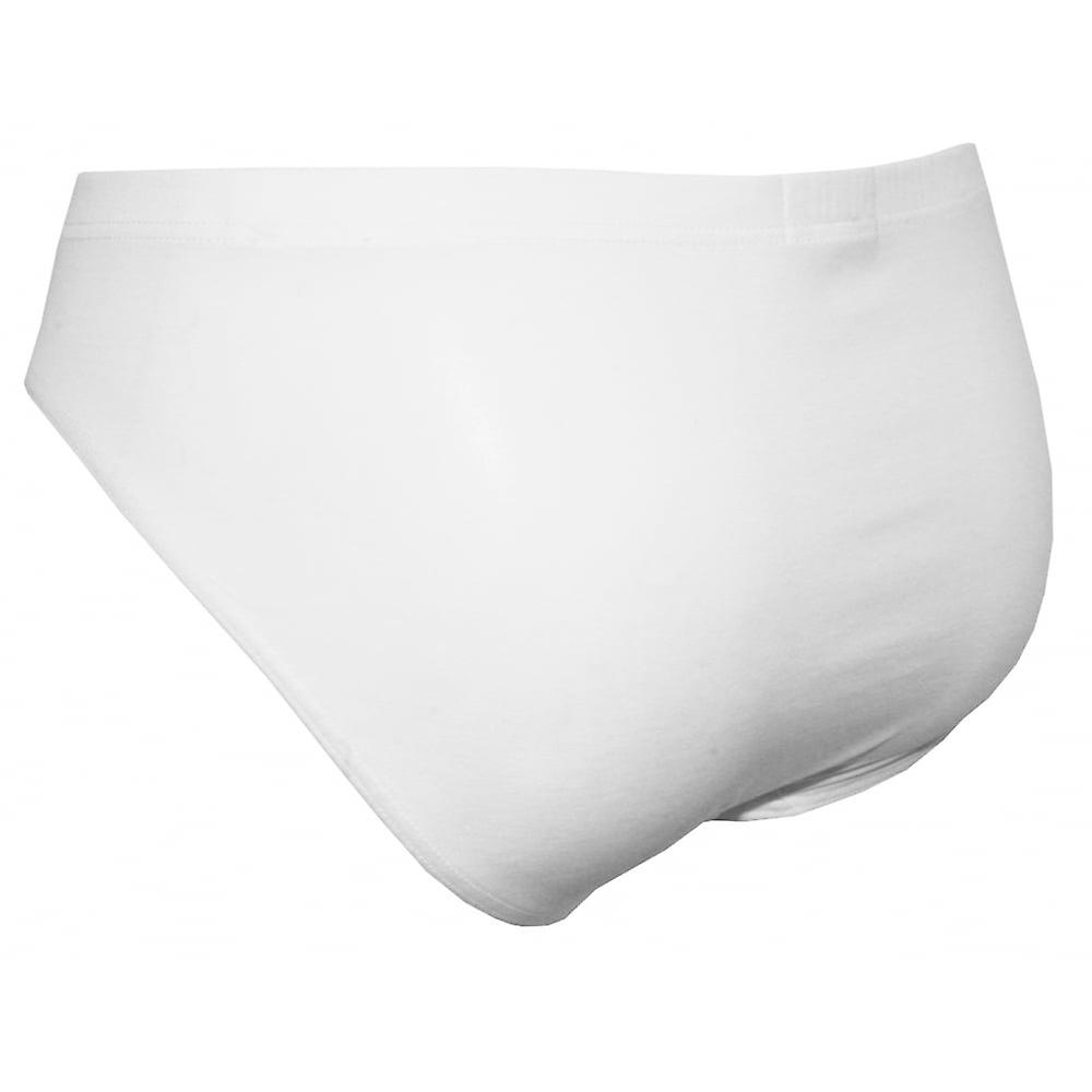 Hanro Cotton Superior Brief, White