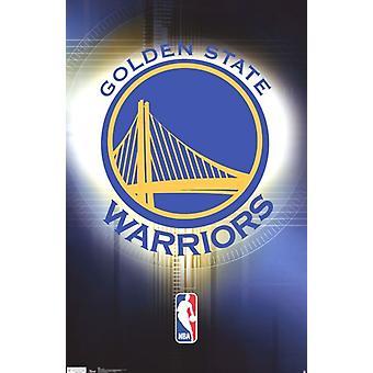 Warriors - Logo 11 Poster Print