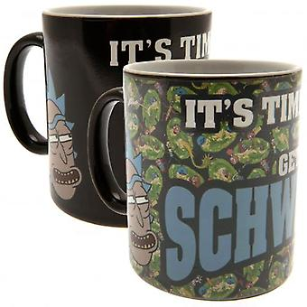 Rick And Morty Heat Changing Mug Schwifty