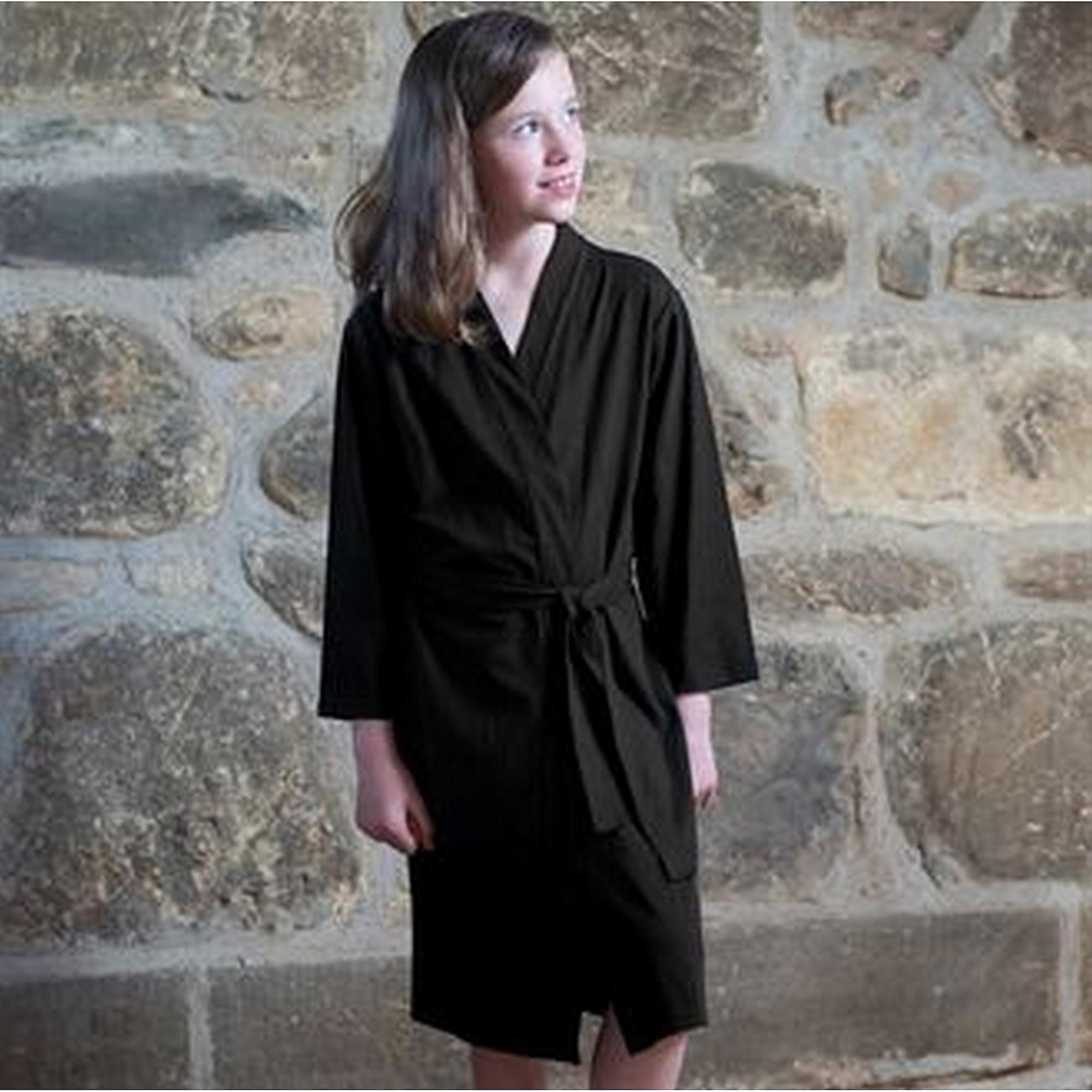 Towel City Childrens/Kids Kimono Style Robe