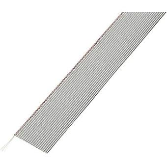 Conrad Components 607692 Flat Ribbon Cable Grey