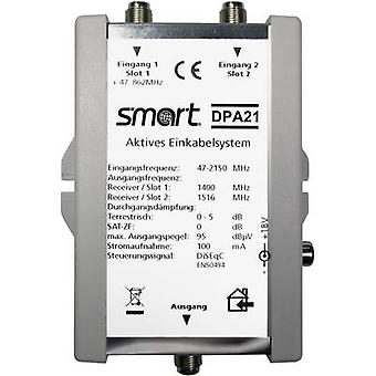 SAT single cable multiswitch Smart DPA 21 Inputs (multiswitches): 2 (2 SAT/0 t