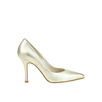 Andrea Pinto women's MCGLCAT03077E gold leather pumps