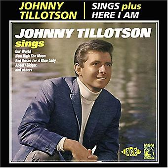 Johnny Tillotson - import Sing/Here I Am [CD] USA