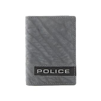 Police Men Wallets Grey