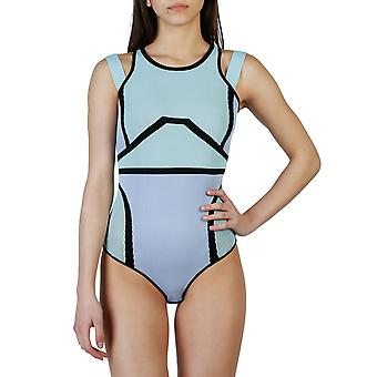Pinko Women Bodysuits Blue