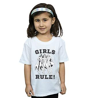 DC Comics Girls Justice League Girls Rule T-Shirt