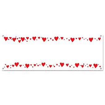 Herz-Zeichen-Banner