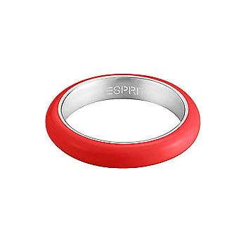 ESPRIT women's ring stainless steel Marin 68 red / silver ESRG11562K