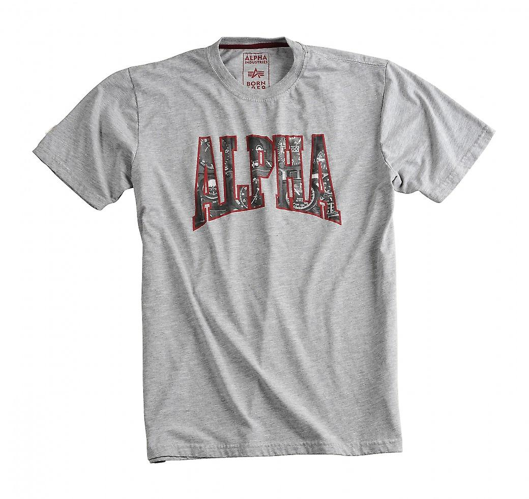 Alpha industries shirt photo print T