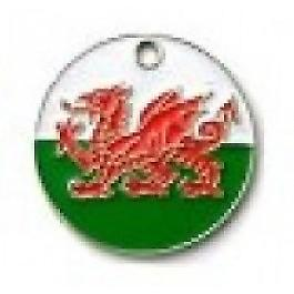 Be Patriotic - Flag Design Tags-welsh
