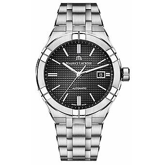 Maurice Lacroix Aikon Automatic Stainless Steel Black Dial AI6008-SS002-330-1 Watch
