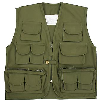 Neue Kinder Multi Pocket Weste Weste Armee Uniform