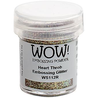 WOW! Embossing Pulver 15ml-Heart Throb