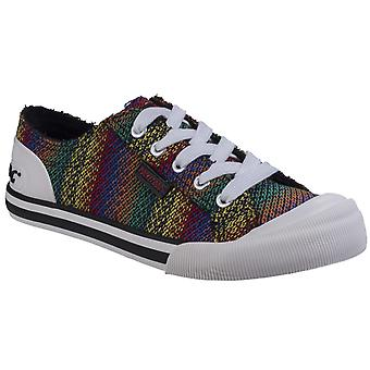 Rocket Dog Womens/Ladies Jazzin Zane Cotton Trainers