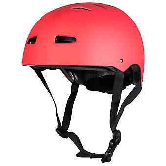 Sushi Matt Red Multisport Skateboarding Helmet
