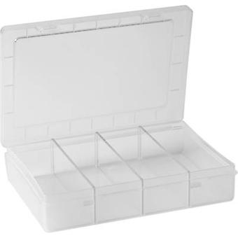 Alutec Assortment box (L x W x H) 180 x 140 x 40 mm No. of compartments: 1 fixed compartments