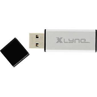Xlyne ALU USB stick 32 GB Aluminium 177561 USB 2.0