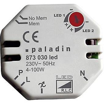 Müller 873030-podtynkowy ściemniacz nadaje się do żarówki: żarówka LED biały