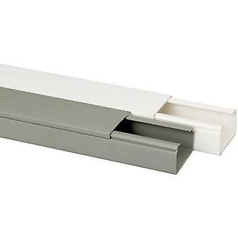 Heidemann 09962 Cable duct (L x W x H) 2000 x 40 x 25 mm 1 pc(s) Pure white