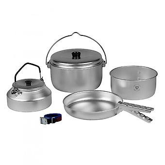 Trangia Aluminium Camp Cook Set 24 Kettle w/ Bail
