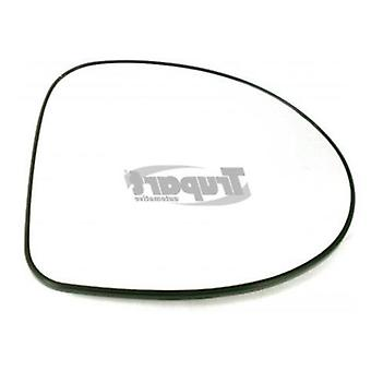 Right Mirror Glass (heated) & Holder for Renault WIND 2010-2013