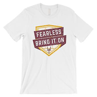 FEARLESS Washington T-Shirt White Mens Funny Game Day Gift For Him