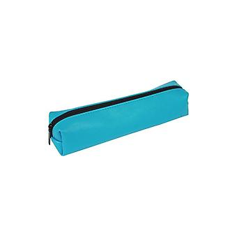 Sense pencil case turquoise with feed 22x5x4 cm