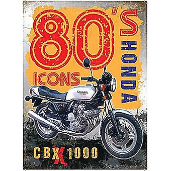 Honda Cbx 1000 Large Metal Sign 400Mm X 300Mm