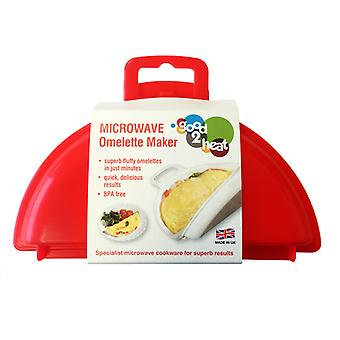 Good 2 Heat Microwave Omelette Maker
