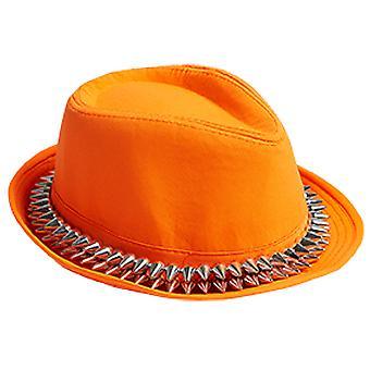 Fedora Stacheln orange
