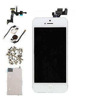Stuff Certified® iPhone 5 förmonterad skärmen (pekskärmen + LCD + delar) AAA + kvalitet - vit