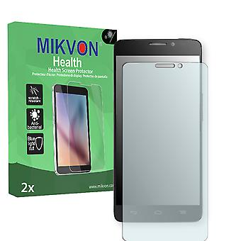 Alcatel One Touch Idol X 6040 Screen Protector - Mikvon Health (Retail Package with accessories)