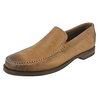 Mens Clarks Smart Slip On Shoes Breken Free