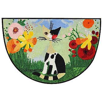 Rosina Wachtmeister doormat Annette 60 x 85 cm semicircular washable dirt mat