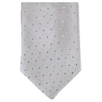 Knightsbridge halsdukar Glitter Tie - Silver