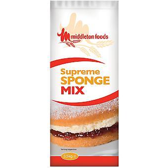 Middletons oberste Ebene-Biskuit-Mix