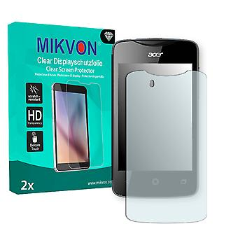 Acer Liquid Z3 Duo Screen Protector - Mikvon Clear (Retail Package with accessories)