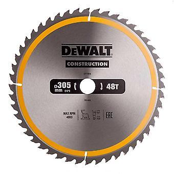 DeWALT DT1959-QZ bouw circulaire zag Blade 305x30mm 48Teeth