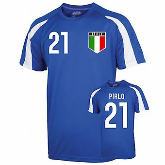 Italy Sports Training Jersey (pirlo 21) - Kids