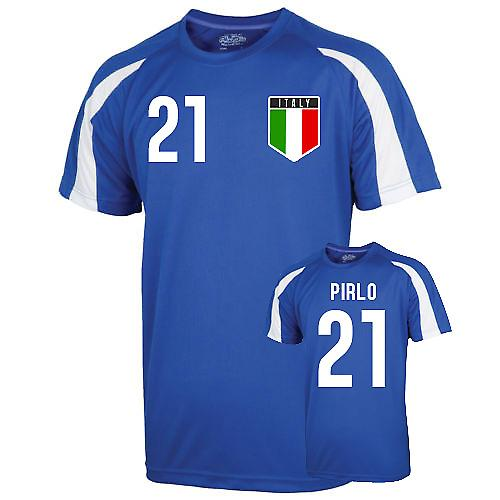 Italie Jersey formation de Sports (Pirlo 21) - Enfants
