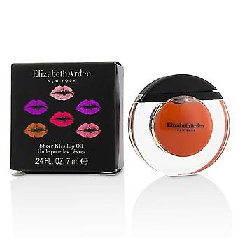 Elizabeth Arden Sheer Kiss Lip Oil - # 03 Coral Caress - 7ml/0.24oz
