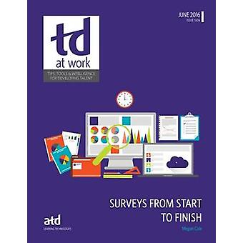 Surveys from Start to Finish by Megan Cole - 9781562869311 Book