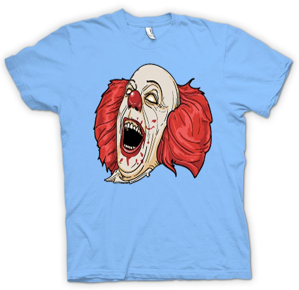 Mens T-shirt-Stephen King TI du Portrait de Pennywise