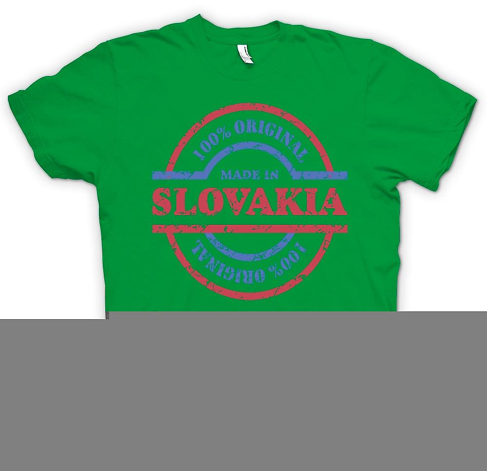 Mens t-shirt-originale 100% Made In Slovacchia